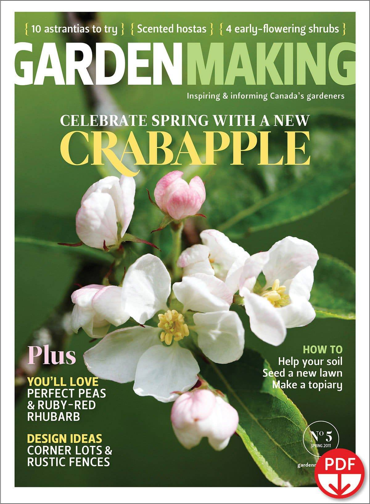 New information and expert picks for crabapples in Garden Making No. 5.