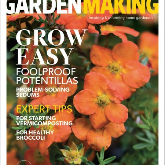 """""""Grow Easy""""expresses our approach to gardening. This is issue No.19 ofGarden Making."""