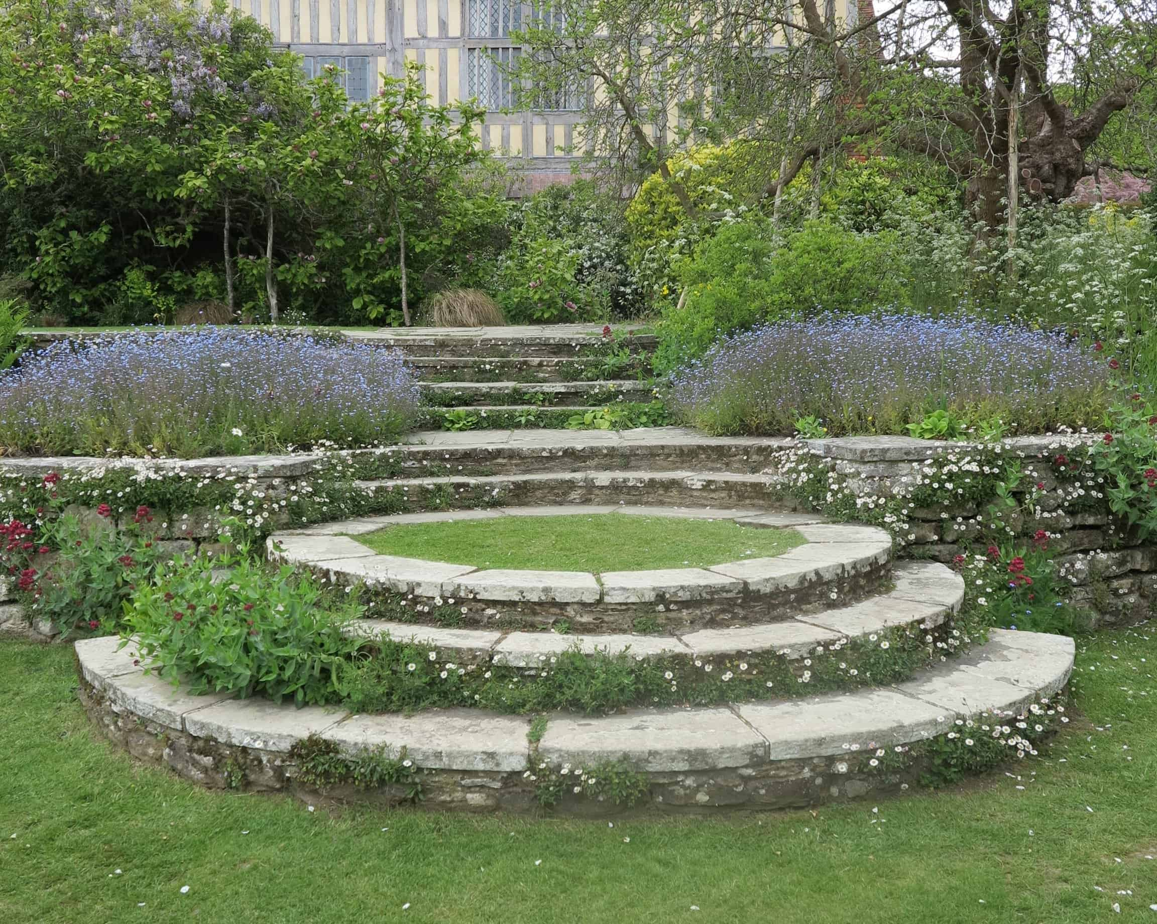 These symmetrical steps and terraces took my breath away.