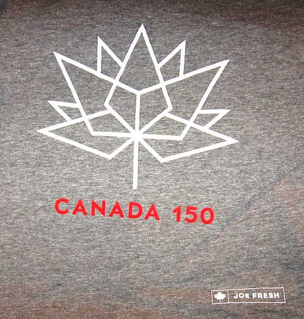 Canada 150 Joe Fresh t-shirt