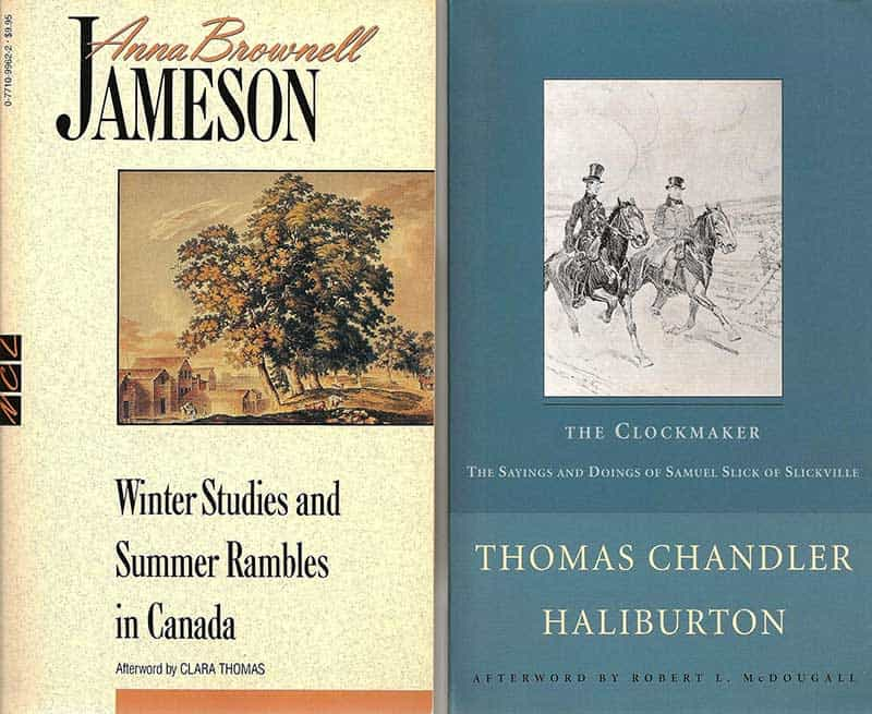 Canadian summer reading about early days in what's now Eastern Canada.