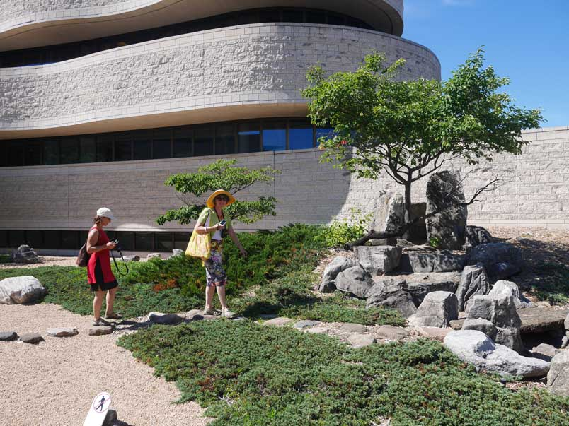 Zen Buddhist Meditation Garden of the Museum of History in Gatineau
