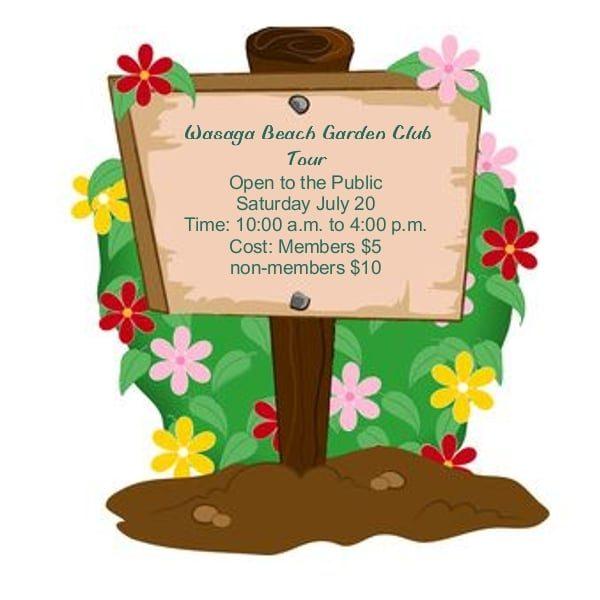 Wasaga Beach Garden Club - Garden Tour