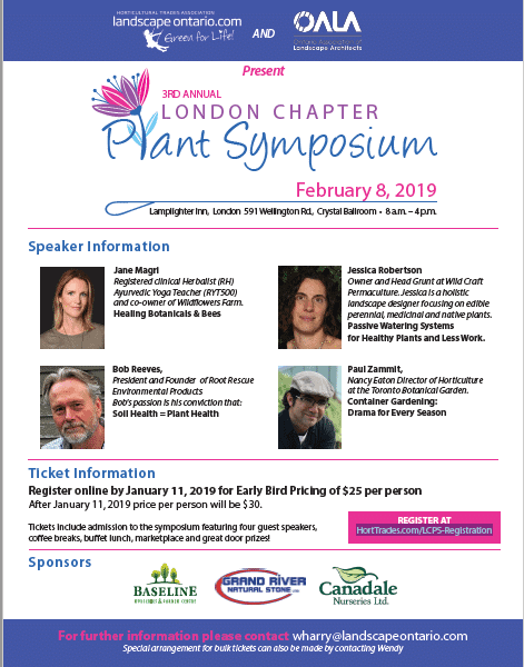 Landscape Ontario London Chapter - Plant Symposium