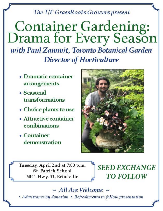 Container Gardening with Paul Zammit