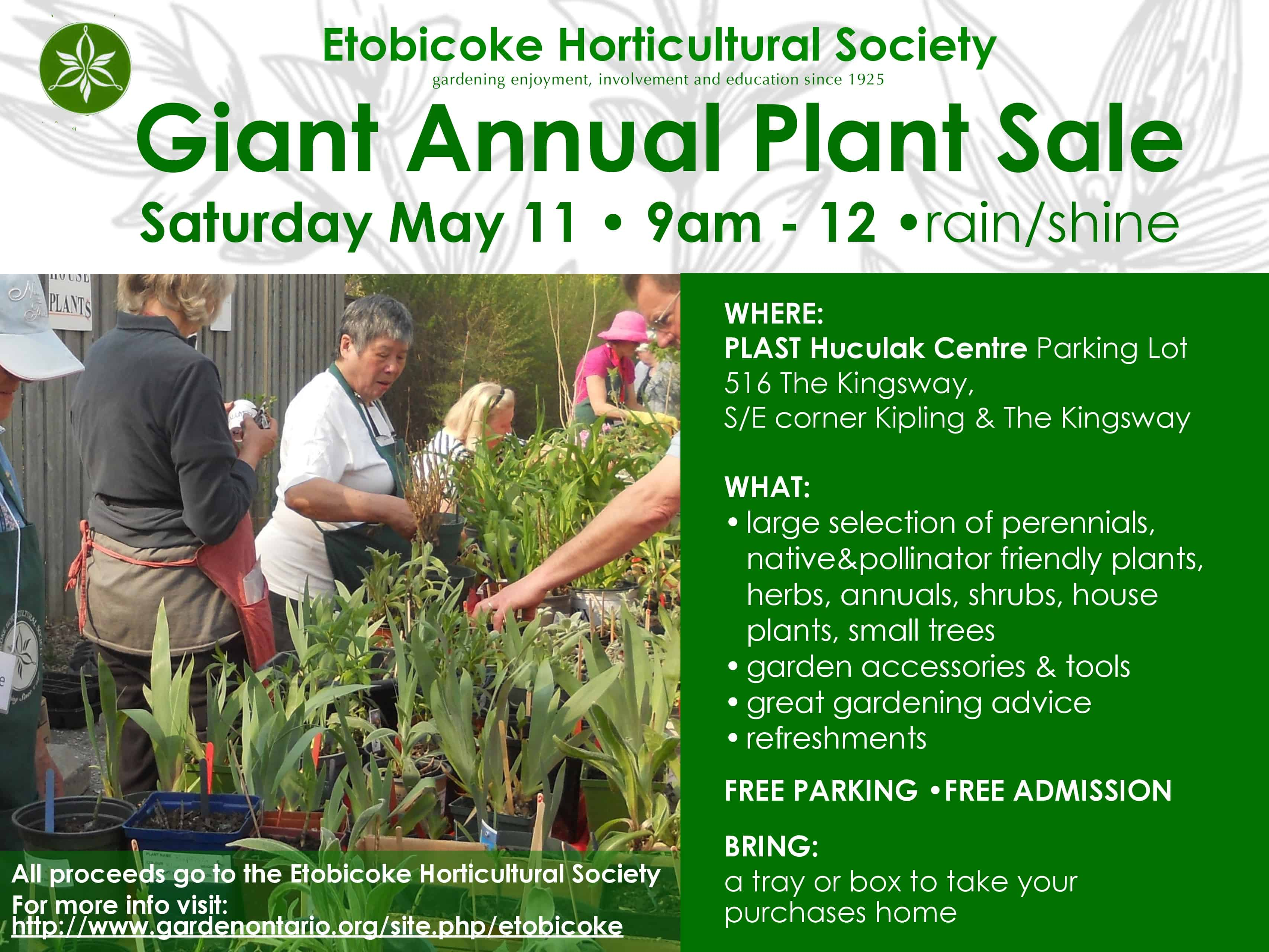 Giant Annual Plant Sale