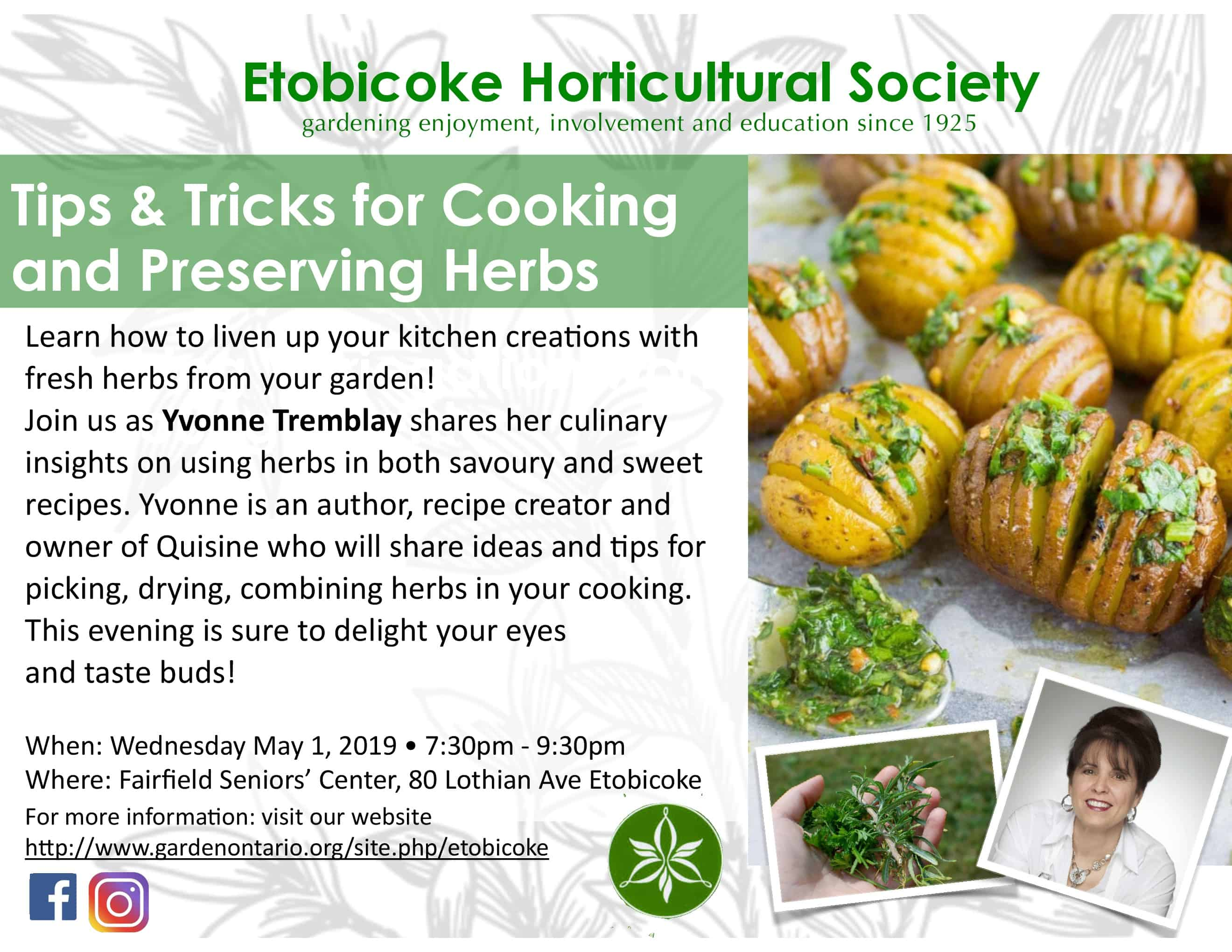 Tips & Tricks for Cooking and Preserving Herbs