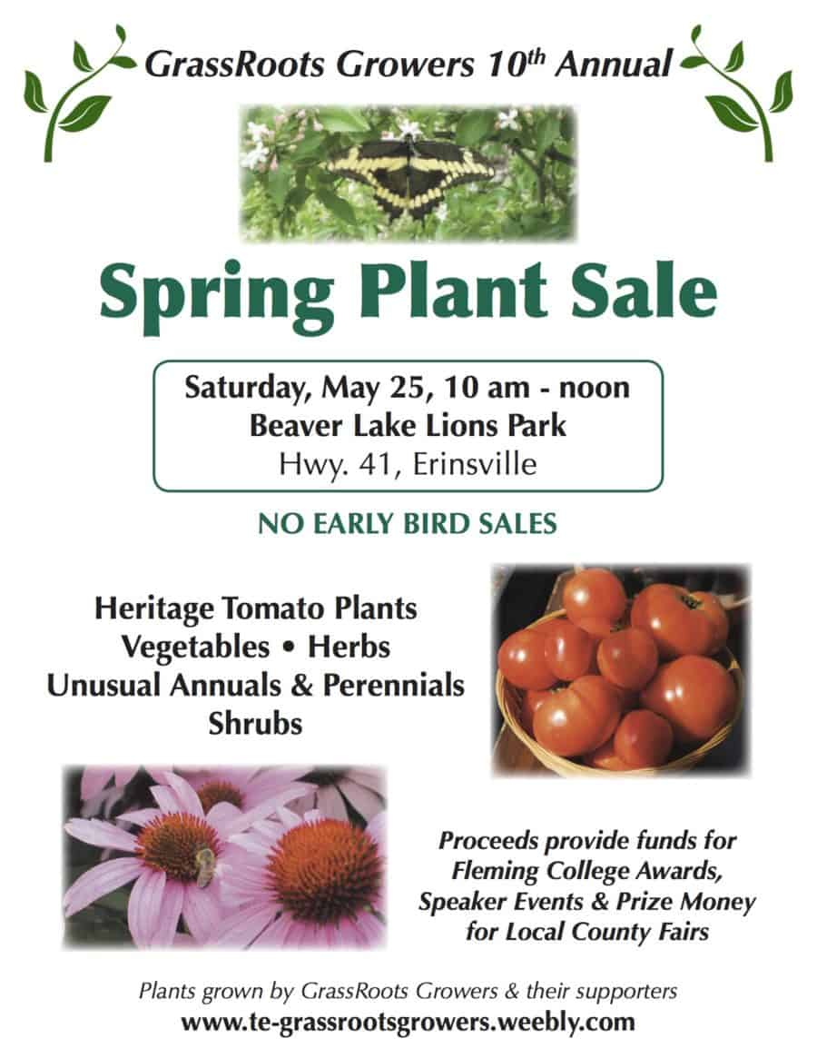 10th Annual Spring Plant Sale