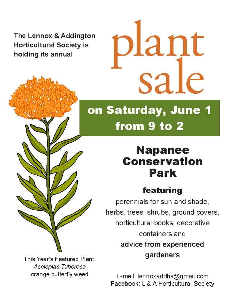 Annual Plant Sale in Napanee
