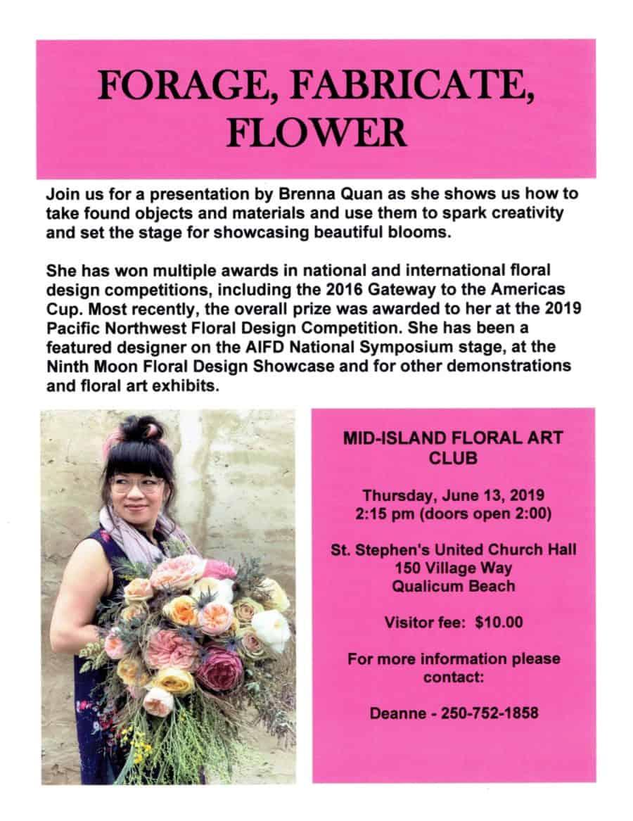 Brenna Quan Floral Demonstration