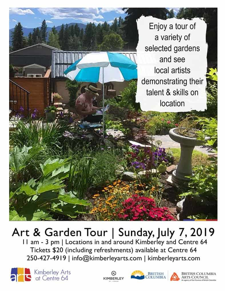 """""""Bloom Where You are Planted"""" Art & Garden Tour"""