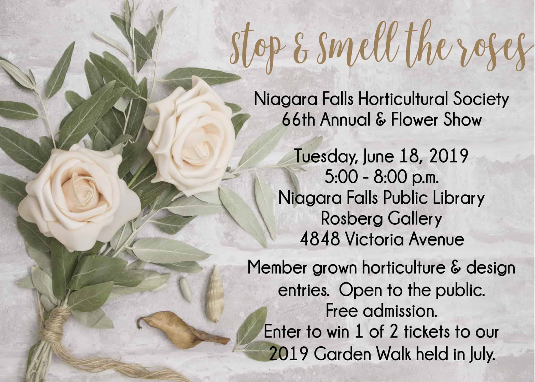 66th Annual Rose & Flower Show