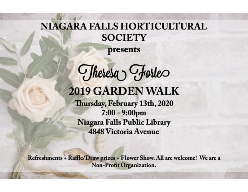 Theresa Forte with Garden Walk 2019
