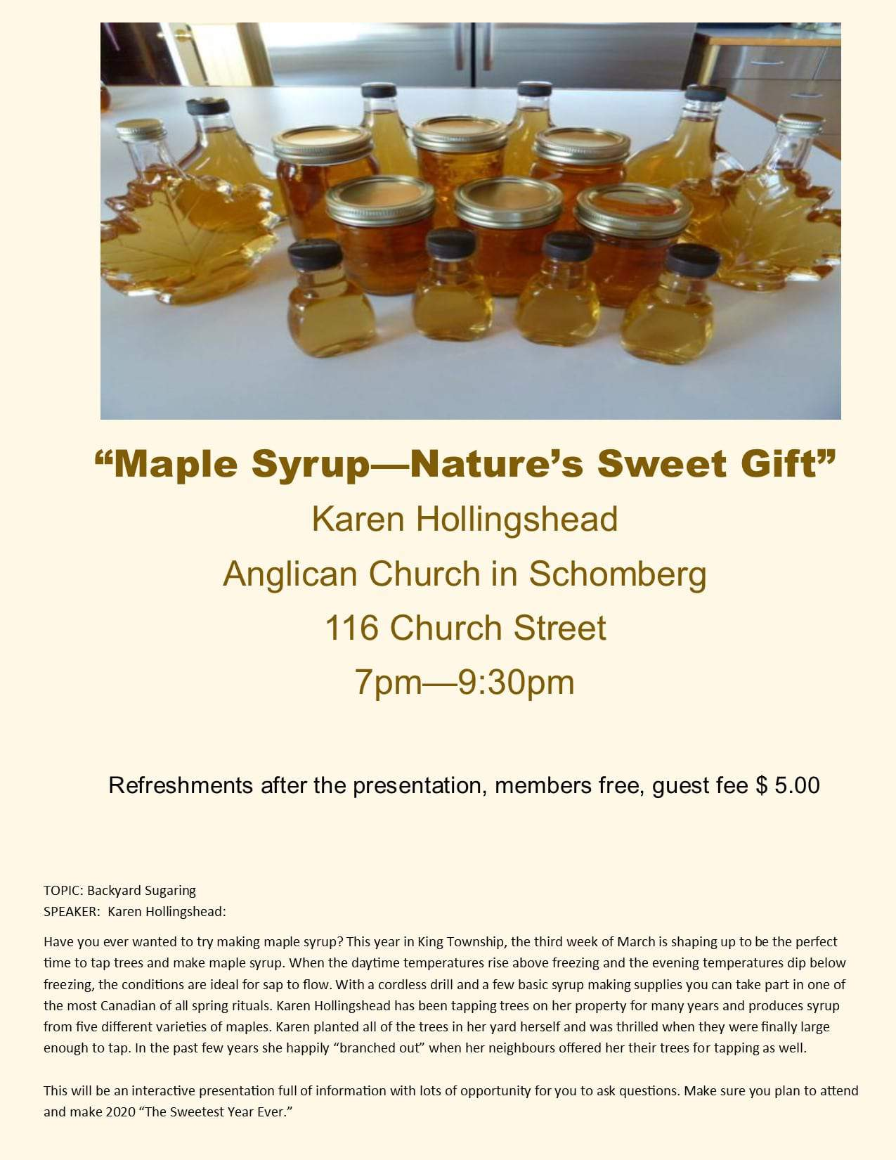 Maple Syrup, Nature's Sweet Gift