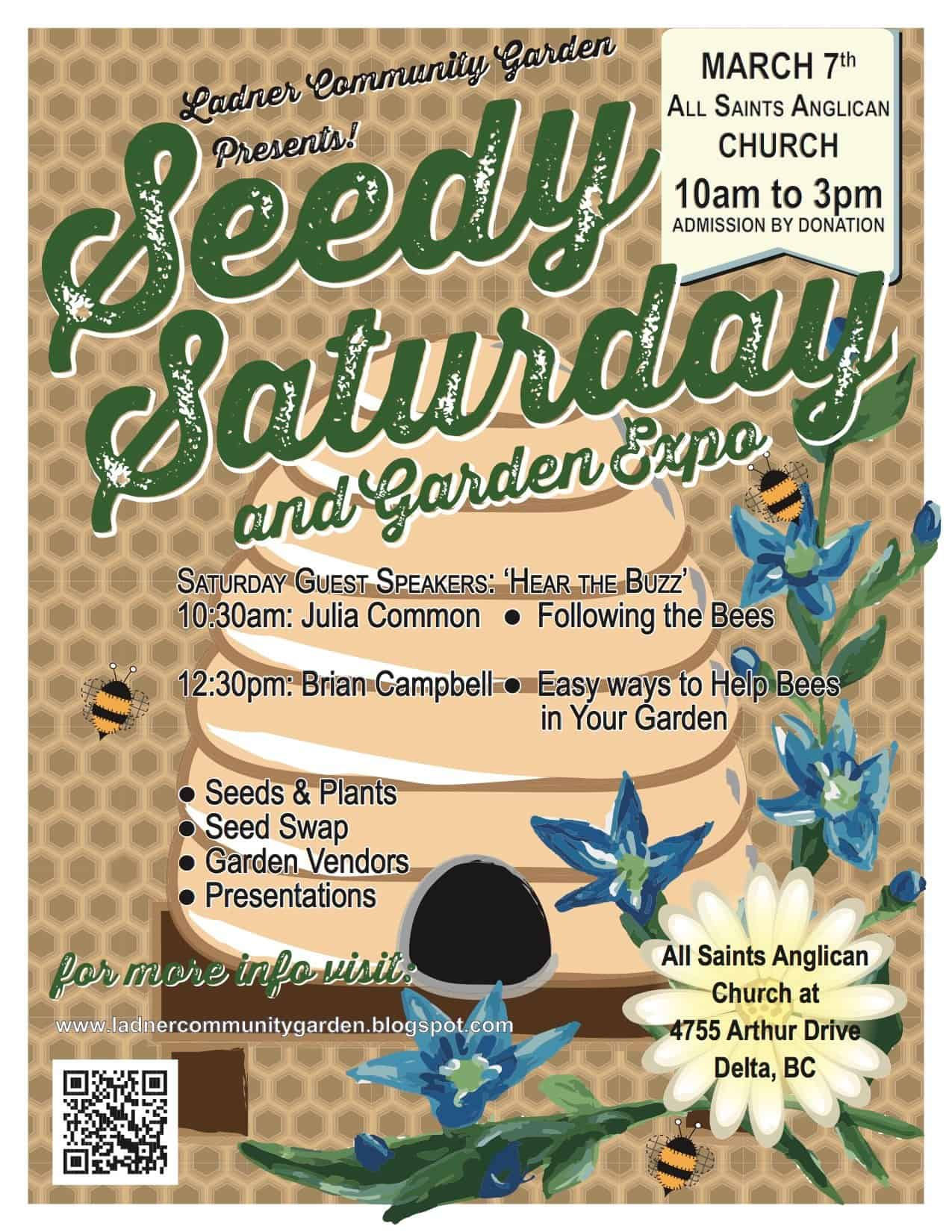 Ladner Seedy Saturday and Garden Expo