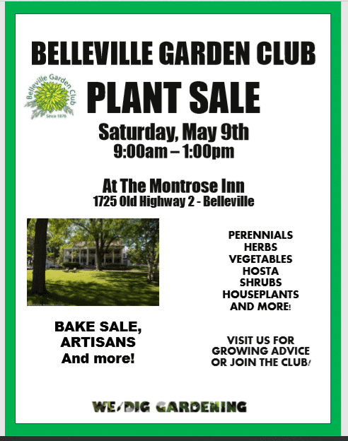 CANCELLED: Belleville Garden Club Plant Sale