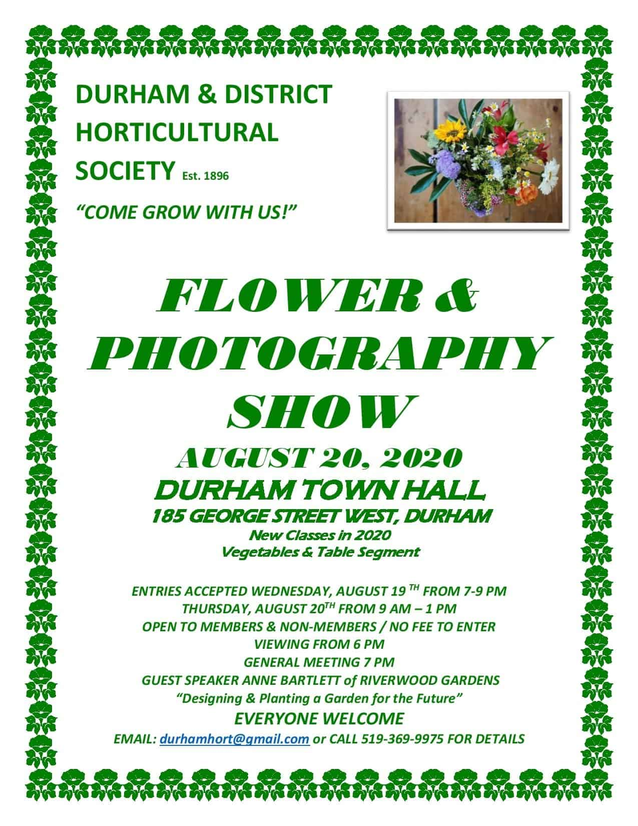 Flower and Photography Show