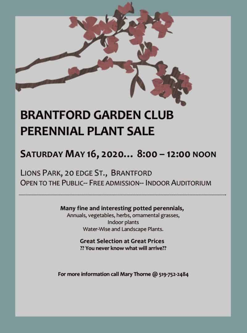 CANCELLED: Perennial Plant Sale