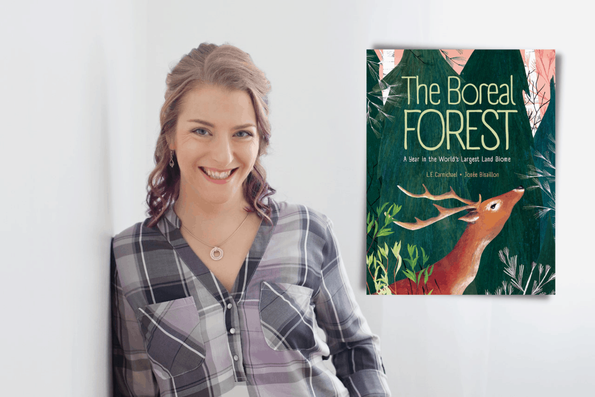 Story time in the garden: The boreal forest with Lindsey Carmichael