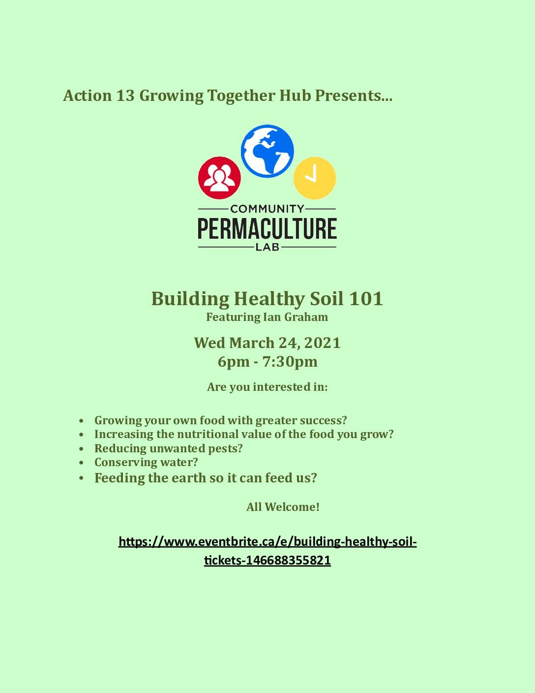 Building healthy soil