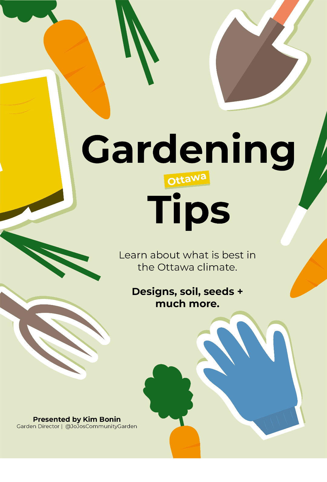 Creative garden design and tips for the Ottawa climate with Kim Bonin